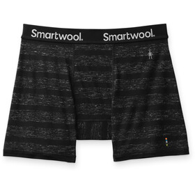 Smartwool Everyday Exploration Merino Boxer Shorts Men, black stripe